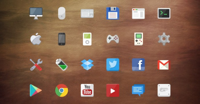 iconos-planos-flat-icon-set